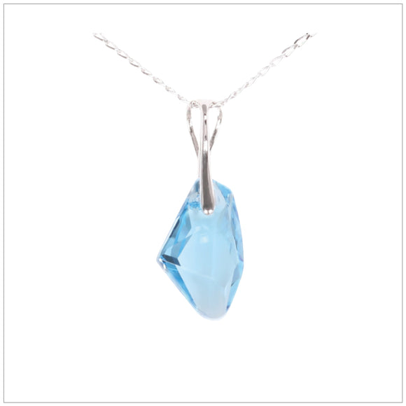 Swarovski Element Galactic Necklace - Aquamarine