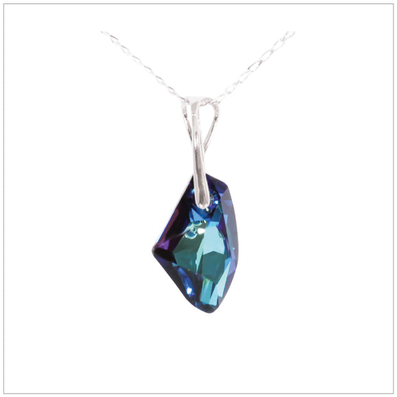 Swarovski Element Galactic Necklace - Bermuda Blue