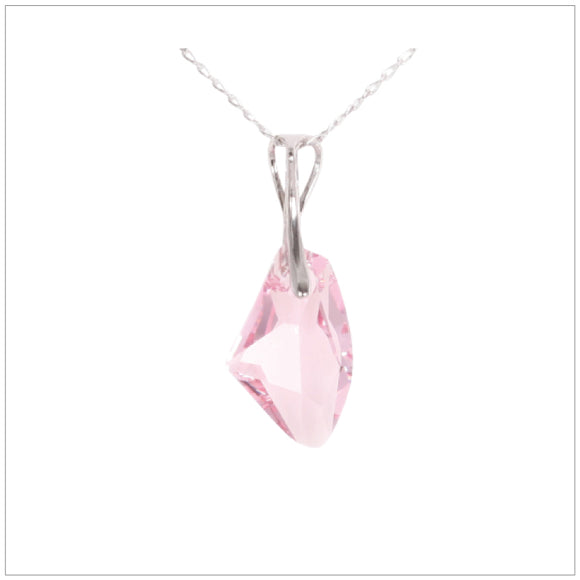 Swarovski Element Galactic Necklace - Light Rose