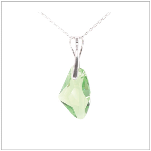 Swarovski Element Galactic Necklace - Peridot