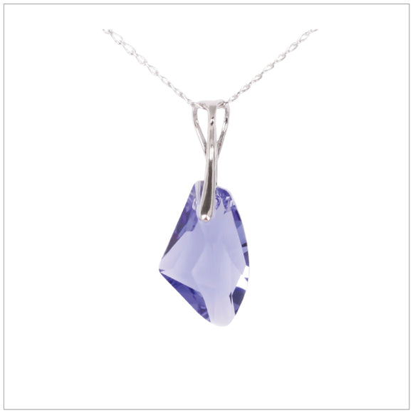 Swarovski Element Galactic Necklace - Tanzanite