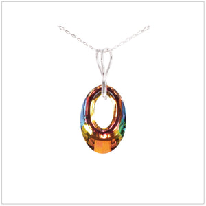 Swarovski Helios Necklace - Vitrail Medium - swarovski jewellery south africa kcrystals