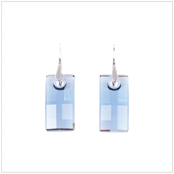 Swarovski Element Urban Earrings - Denim Blue - K. Crystals Online