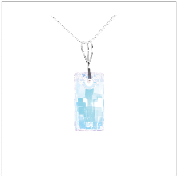 Swarovski Element Urban Necklace - Aurore Boreale - K. Crystals Online