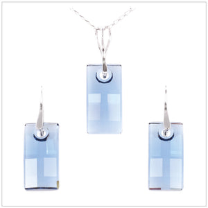 Swarovski Element Urban Set - Denim Blue - K. Crystals Online