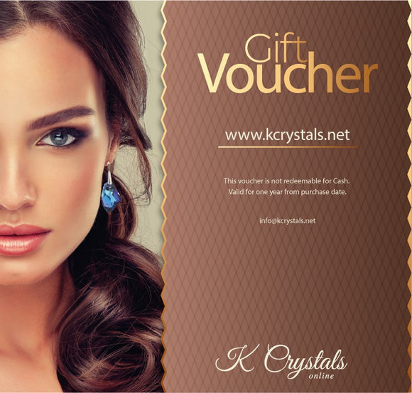 - K. Crystals Online Gift Card