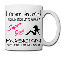 Super Married Musician Mugs - Special Offer!