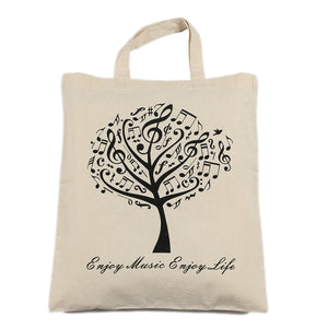 Pure Cotton Earth Friendly Music Bag