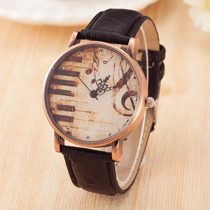 Beautiful Piano Watch - 4 Colours Available!