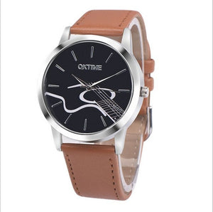 Acoustic Guitar Women's Wrist Watch - 3 Colours Available!