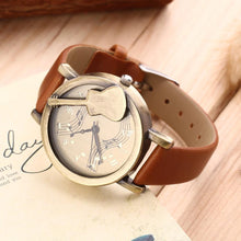 Vintage Style Guitar Watch - 4 Colours Available