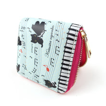 Musical Cats Purse - Coins and Cards