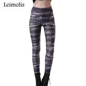 Super Shaper Musical Leggings