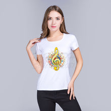 Colourful Treble Clef T-Shirt