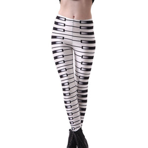 Sexy Wrap Around Piano Leggings