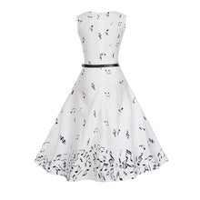 Hepburn Style Summer Music Dress