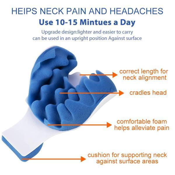 Neck and Shoulders Alignment Pillow