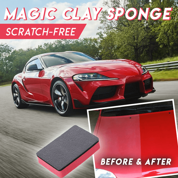 Magic Clay Sponge Pack (3 pcs)