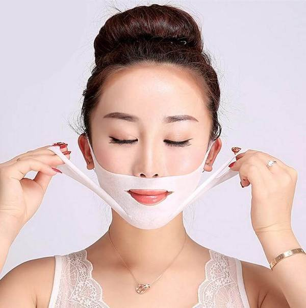 V-Shaped Slimming Mask Pack (3 pcs/pack)