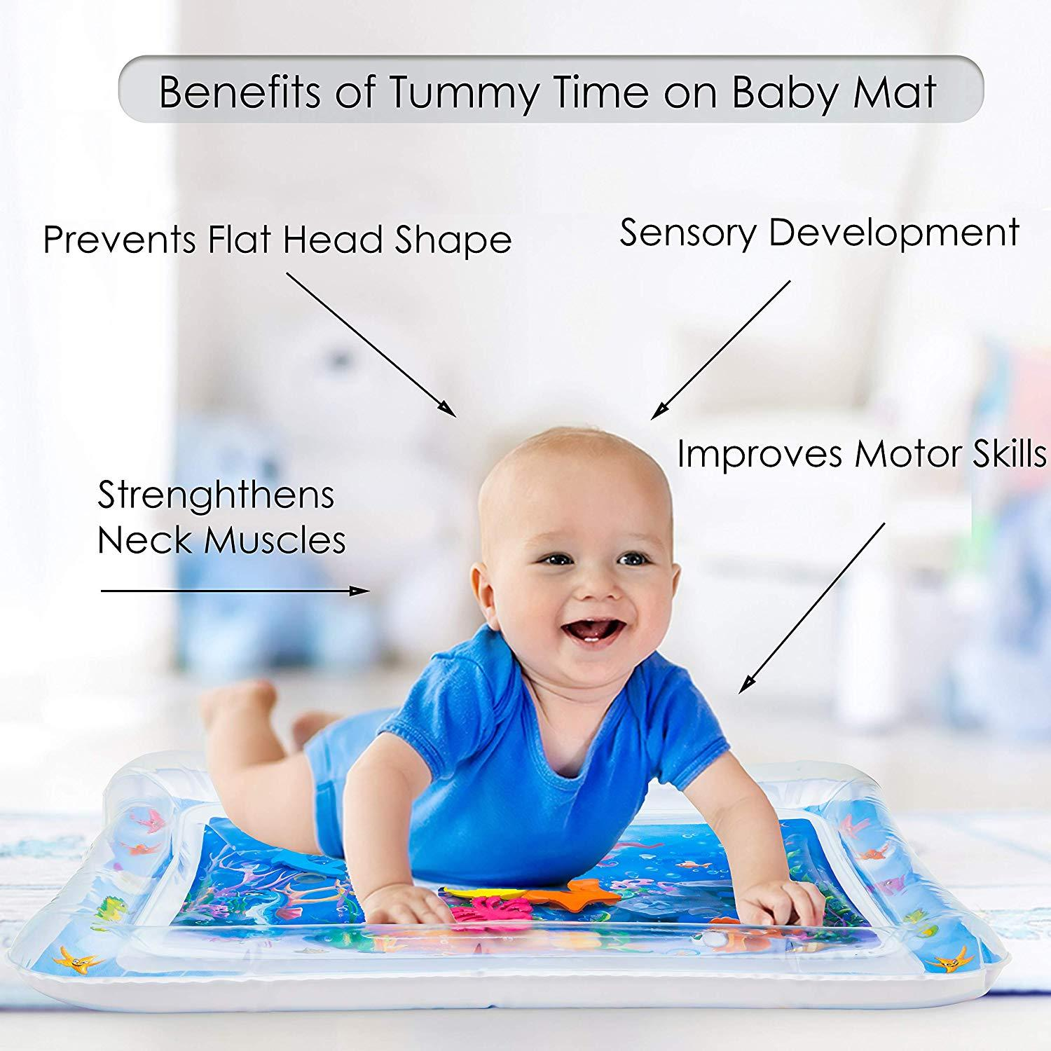 Inflatable Tummy Time Water Mat