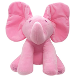 Peek-A-Boo Elephant Plush Doll