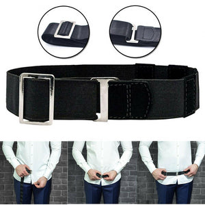 Adjustable Shirt Holder Belt
