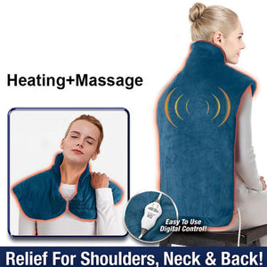 Heating Neck And Back Massager