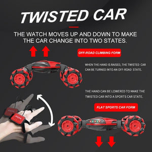 Gesture Control Double-Sided Stunt Car