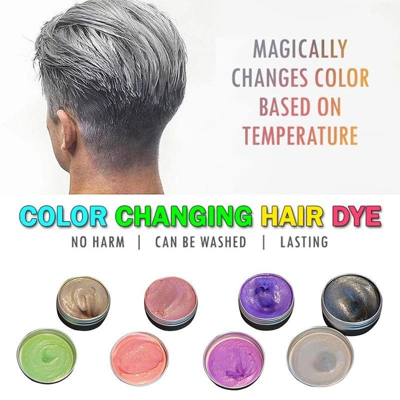 Magical Color Changing Hair Dye