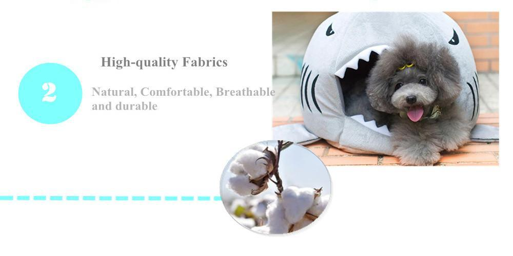 Indoor Pet's Shark Sleeping Bed