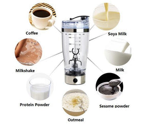 Rechargeable Protein/Drink Blender Bottle