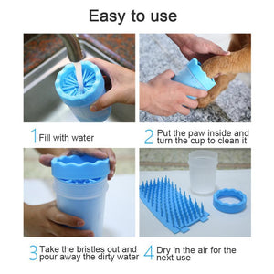 Portable Paw Washing Cup