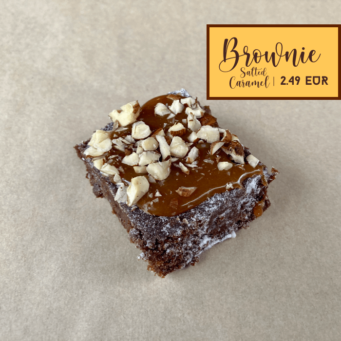 Brownie Salted Caramel
