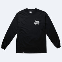 CUSTOMS LONG SLEEVE T-SHIRT - BLACK