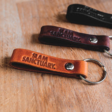 Slam Sanctuary Key Fob - BROWN