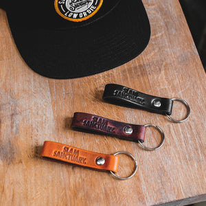 Slam Sanctuary Key Fob - TAN