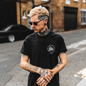 LOGO HEX BP T-SHIRT - BLACK