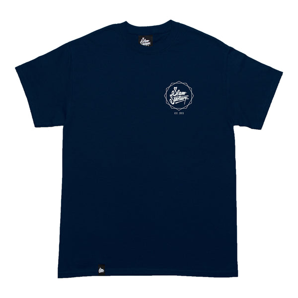 LOGO HEX BP T-SHIRT - NAVY