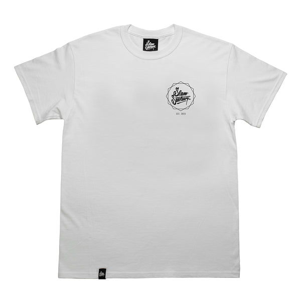 LOGO HEX BP T-SHIRT - WHITE