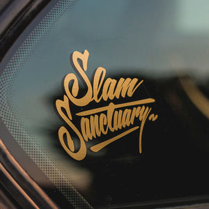 Logo Sticker - GOLD