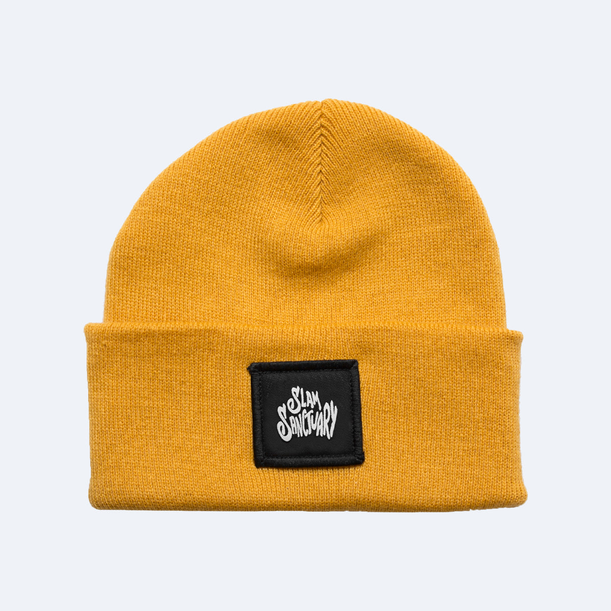 PATCH BEANIE - YELLOW