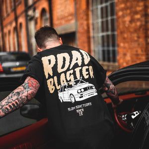 ROAD BLASTER T-SHIRT - BLACK