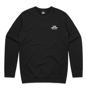 FLAG SWEATSHIRT - BLACK