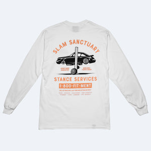 STANCE SERVICES LONG SLEEVE T-SHIRT