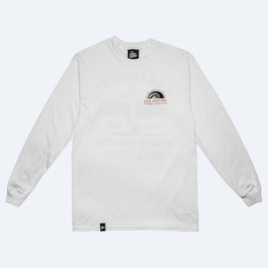 STANCE SERVICES LONG SLEEVE T-SHIRT - WHITE