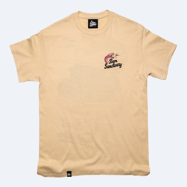 SWEET TEMPTATION T-SHIRT - YELLOW