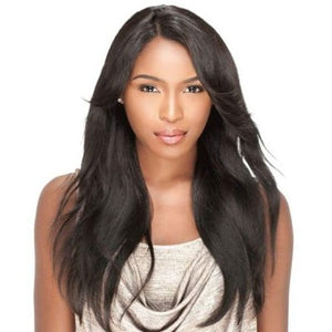 100% BRAZILIAN VIRGIN REMI LACE WIG - NATURAL STRAIGHT, 20 INCHES - Visons Hair & Cosmetics Butik
