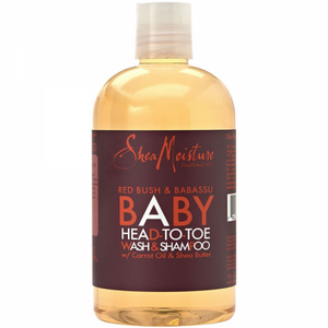 SHEA MOISTURE BABY HEAD-TO-TOE WASH & SHAMPOO CARROT & SHEA BUTTER, 355 ML