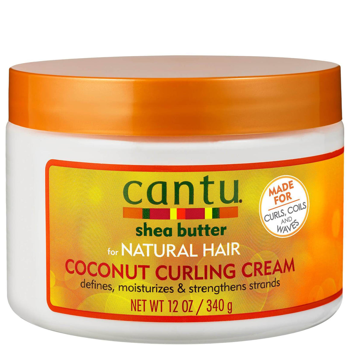 CANTU COCONUT CURLING CREAM, 340 G