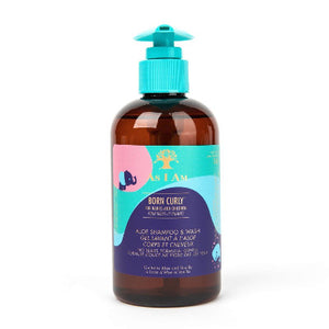 Born Curly Aloe Shampoo & Wash, 240 ML